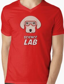 Science Lab Mens V-Neck T-Shirt