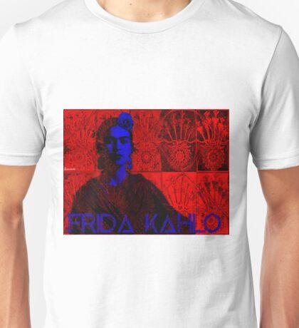 Frida Kahlo (Ver 4,1) Unisex T-Shirt