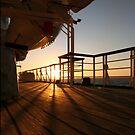 Cruising Sunset by John Dalkin