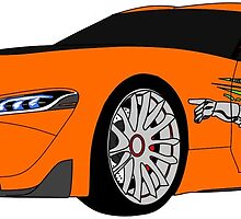 The Fast and the Furious Toyota FT1 by AshleyBlack