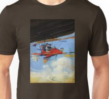Futuristic air travel Vintage Poster Unisex T-Shirt