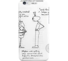 The Idiosyncratic Robot iPhone Case/Skin
