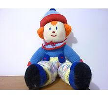 Hand knitted Clowns Photographic Print