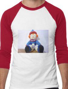 Hand knitted Clowns Men's Baseball ¾ T-Shirt