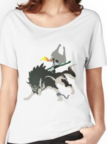 Wolf Link and Midna - Vector Art Women's Relaxed Fit T-Shirt