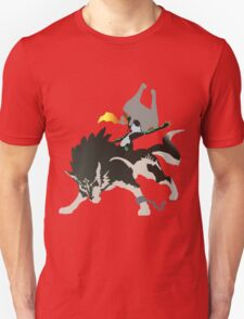 Wolf Link and Midna - Vector Art Unisex T-Shirt