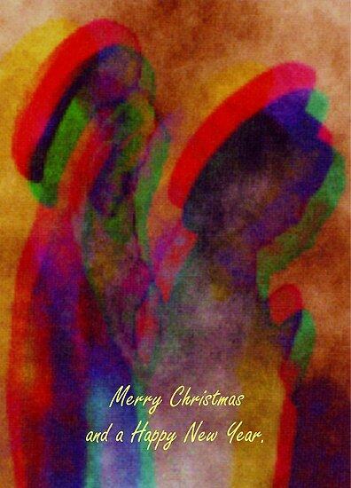 Christmas greeting card  by patjila
