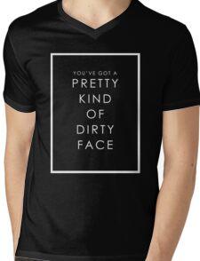 PRETTY FACE Mens V-Neck T-Shirt