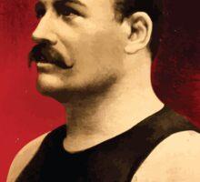 Poster 1890s Roeber and Crane Bros Vaudeville Athletic Co Ernst Roeber champion of the world wrestling poster 1898 Sticker
