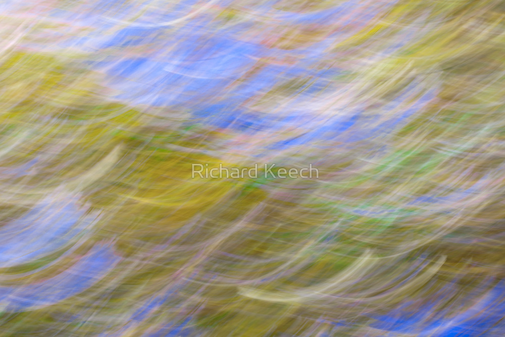 Over the Oceans, Gaze. by Richard Keech