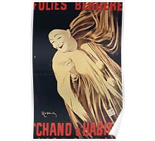 Poster 1890s Poster by Happichy of Severin in Chand d'habits! 1896 Poster