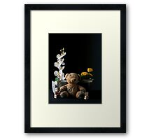 The Orchid & The Dandelion Framed Print