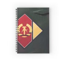 East German Airforce Insignia Spiral Notebook
