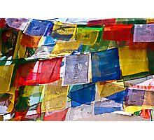 Prayer Flags, Bhouda, Kathmandu Photographic Print