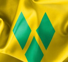 Saint Vincent and the Grenadines Flag Sticker
