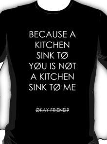BATHROOM SINK T-Shirt