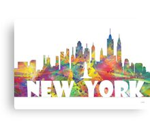NEW YORK SKYLINE MCLR2 Canvas Print