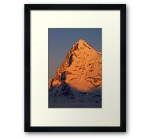 The Eiger Framed Print