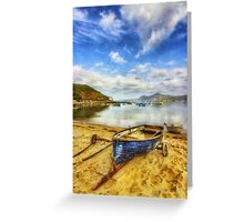 Lets Sail Away Greeting Card