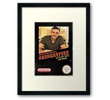 Ask Gary Vee Show - NES Framed Print