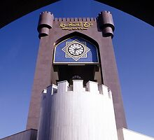 Awakening Tower on Seeb Roundabout in Muscat, Oman by John Rocha