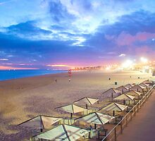 beach lights. sunset by terezadelpilar~ art & architecture