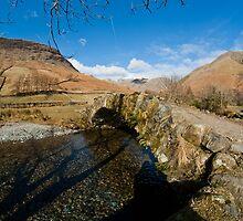 Bridge at Wasdale by taffspoon