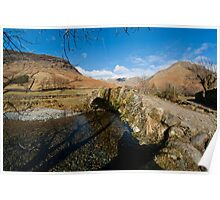 Bridge at Wasdale Poster