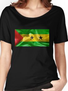 Sao Tome and Principe Flag Women's Relaxed Fit T-Shirt