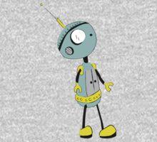 lonely robot Kids Tee