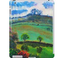 English Countryside Landscape Painting iPad Case/Skin