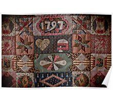 Sundial Coverlet -www.carolynsquiltingroom.com.au Poster