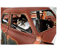 Rust Bucket ~ BoneYard Series Poster