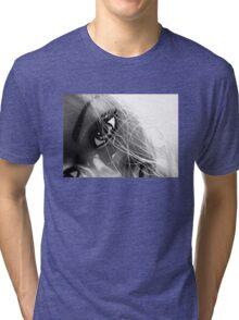 Shiny Happy Plastic Tee Tri-blend T-Shirt