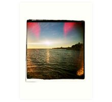 Looking East on the North Fork. Art Print