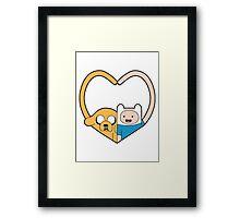 Finn & Jake Framed Print