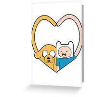 Finn & Jake Greeting Card