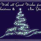 christmas star tree.jpg by Bernie Stronner
