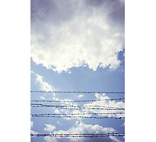 Barbed Sky Photographic Print