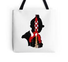 Tintin's Rocket Tote Bag