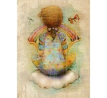 once upon a rainbow Photographic Print