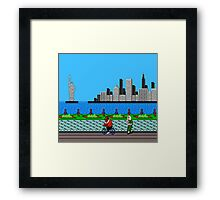 Ask Gary Vee Show - NES Punch Out Training Framed Print