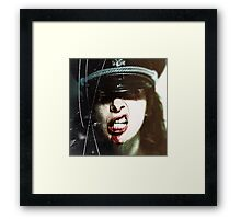 Chopper Chicks in Zombietown Framed Print