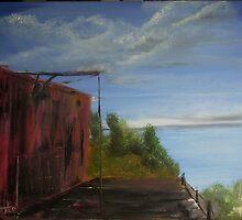 The Boat House - Estril Beach Michigan by tusitalo