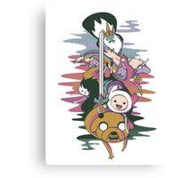 Adventure Time Canvas Print