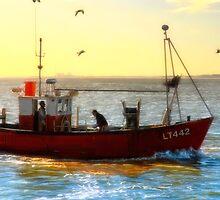 Fishing Smack by Simon Duckworth