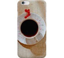 morning coffee iPhone Case/Skin