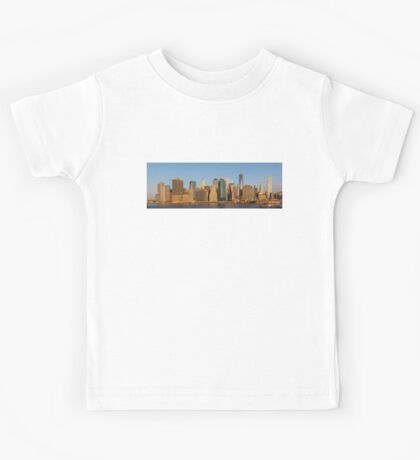 Manhattan panorama Kids Tee