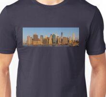 Manhattan panorama Unisex T-Shirt