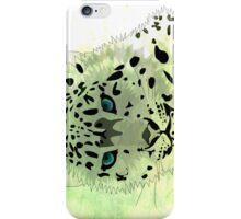 Cat and leopard iPhone Case/Skin